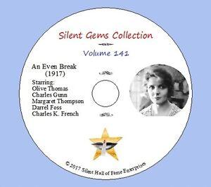 DVD-034-An-Even-Break-034-1917-starring-Olive-Thomas-Classic-Silent-Drama