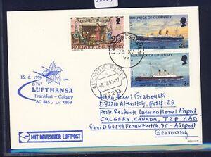 56003-LH-FF-Frankfurt-Calgary-Canada-15-6-96-Karte-GB-UK-Guernsey