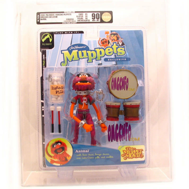 Muppet Show Palisades AFA 90 OMGCNFO Animal exclusive