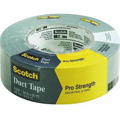 "24 Pk 3M Scotch 1.88/"" X 30 Yd Gray Duct Tape 1130-A"