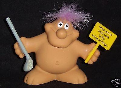 BIRTHDAY Chubby Lady Troll Doll GETTING OLDER SUCKS New in Bag