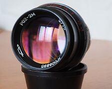 Rare cine lens KMZ RO2-2m (f2.0/75mm)  #008895 Mint!