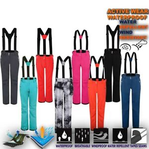 Womens-Ski-Trouser-Lightweight-Waterproof-Snow-Pant-Snowboard-Salopettes-Effuse