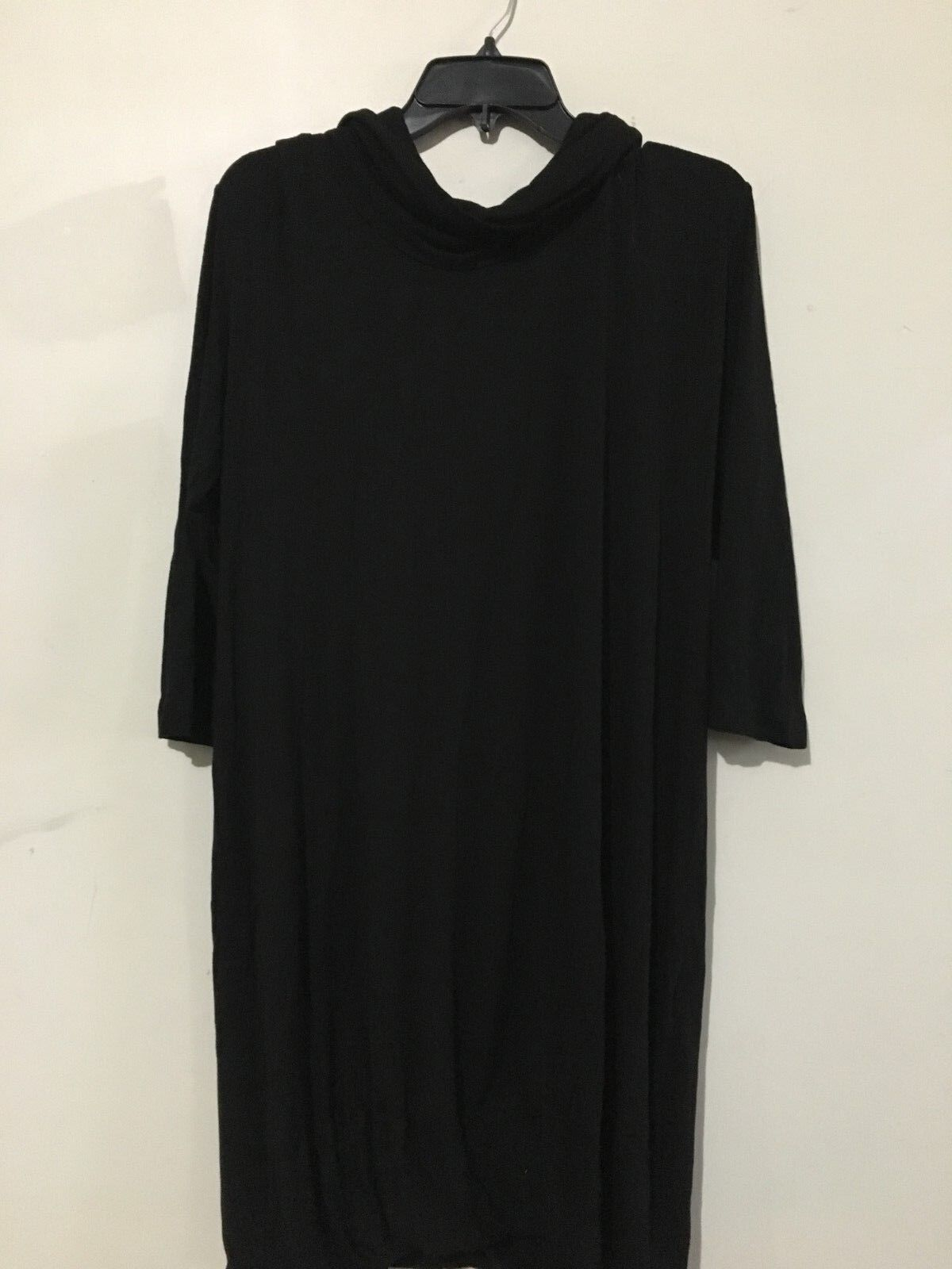 Barbara Di Davide  Milano Stylish schwarz Größe M Turtleneck Dress damen