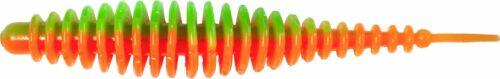 Feinripp Forellenköder Magic Trout T-Worm 1g I-Tail neon Knoblauch 6,5cm 6 Stück