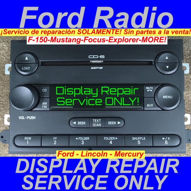 Ford F150 Oem Cd Mp3 Player Radio Ebayrhebay: 2007 F150 Oem Radio At Gmaili.net