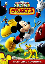 Disney Junior Mickey Mouse Clubhouse Mickey's Great Clubhouse Hunt Childrens DVD