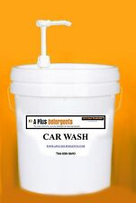 5 Gallons Liquid Car Wash - Red - $30 with pump