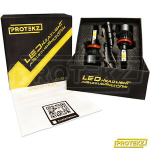 LED-Headlight-Kit-Protekz-H1-6000K-CREE-Low-Beam-for-Honda-Prelude-1997-2001