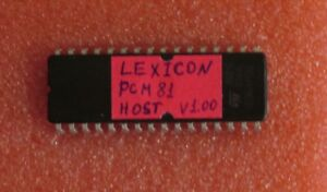 Lexicon-PCM81-EPROM-ROM-OS-ver-1-00-host-firmware