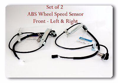Set 2 ABS Wheel Speed Sensor Front L//R Fits Ford Jaguar Lincoln Volvo 2002-2020
