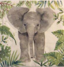 Paper Napkin for Decoupage//Robin//Scrapbooking//Card Making//Serviette//x2