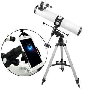 Visionking-114-mm-900-Equatorial-Mount-Astronomical-Telescope-amp-Phone-Adapter