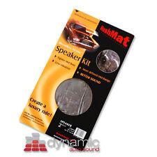 "HushMat ULTRA Door Speaker Kit 10111 Silver Color Sound Deadening 2 sq.ft.6""x12"""