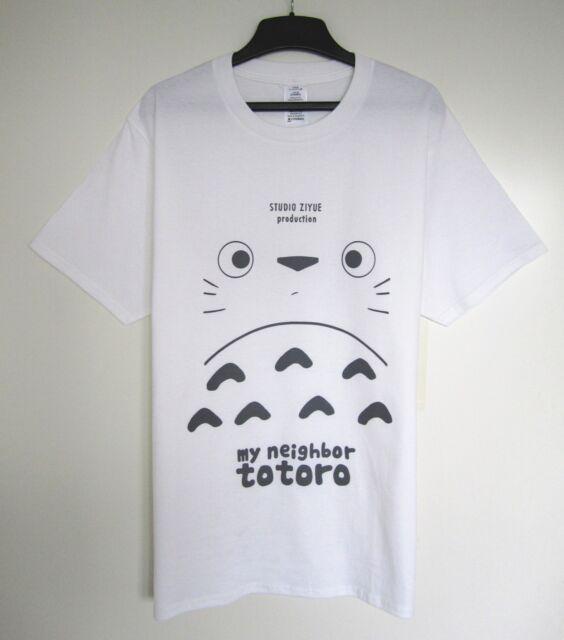 Studio Ghibli My Neighbour Totoro Cute Comfort Cotton Original Design T-shirt
