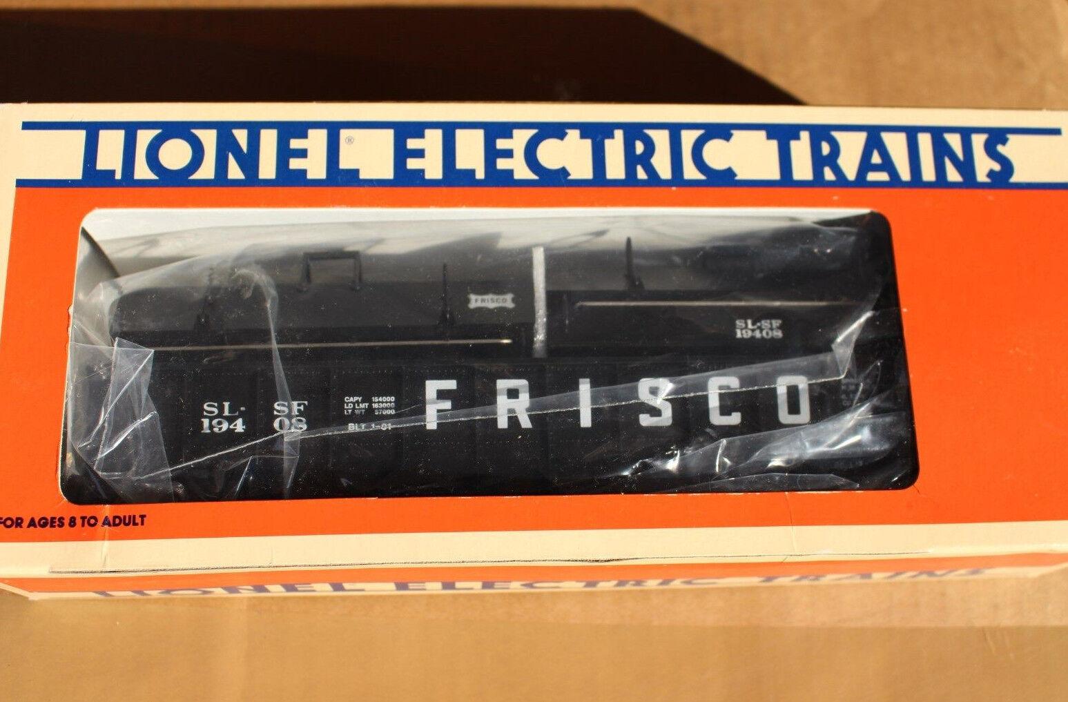 1991 Lionel 6-19408 Frisco Gondola with Coil Covers L2745