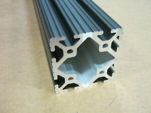 8020 Inc 3 x 3 T-Slot Aluminum Extrusion 15 Series 3030 x 48 Black H1-3