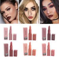MISS ROSE Maquillage Soft Rouge à Lèvres Crayon Mat Velvet Gloss Lips Waterproof
