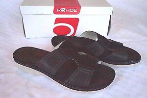 Details zu Rohde Damen Schuhe Sandale Pantolette schwarz Carrara Softnappa Gr. 37