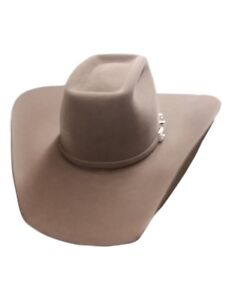 5ac9e27a2da1c Image is loading American-Cowboy-Hat-Mens-Felt-Lucky-7X-Brick-