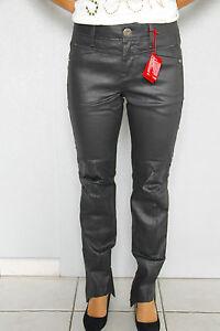 jeans-encerado-cuero-M-amp-F-GIRBAUD-bota-tacon-TALLA-32-42-NUEVO-precio-tienda