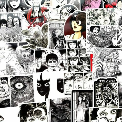 SIKOMOLE® Sticker Decal For Car Laptop Bicycle 56 Pcs//lot Another Face Tomie
