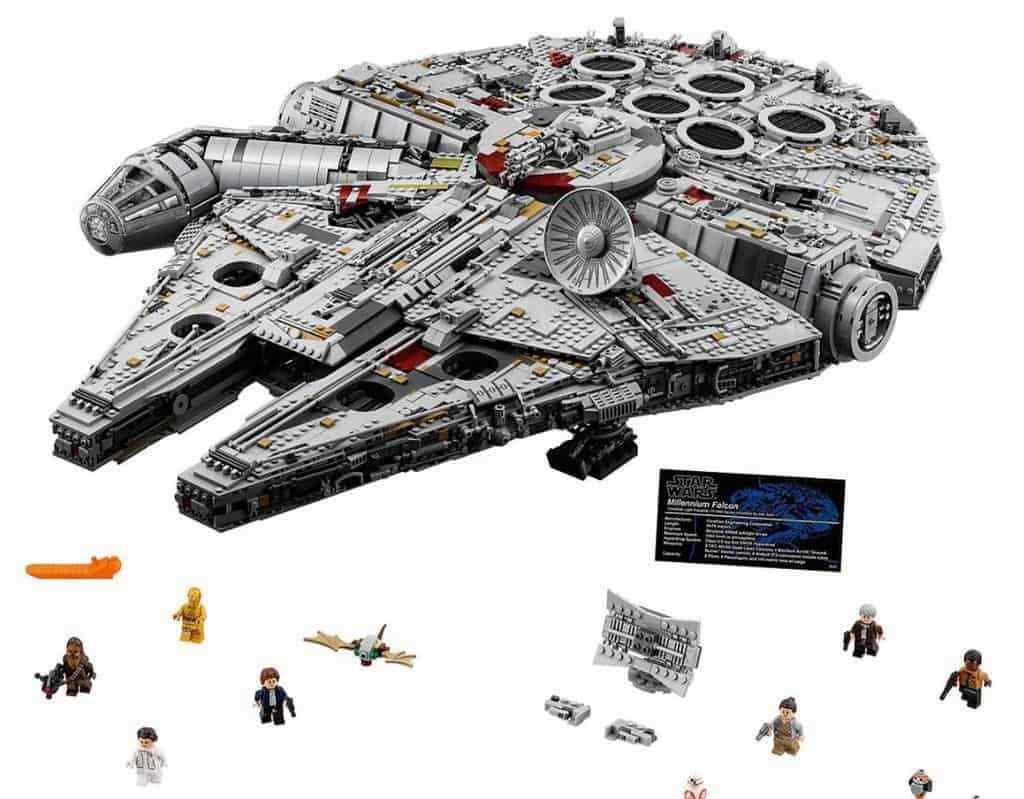 MILLENNIUM FALCON 8445Pcs Star Wars Collector's Edition - Pls Pls Pls Msg for color box 8fc4f6