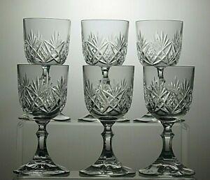 ROYAL-ALBERT-CRYSTAL-CUT-GLASS-SMALL-WINE-SHERRY-GLASSES-SET-OF-6-5-1-3-034-TALL