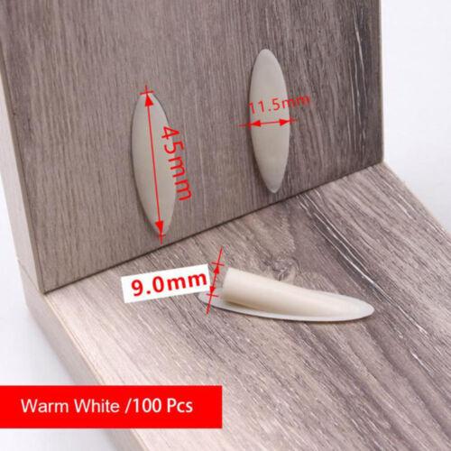 100pcs Poche Trou Jig Boiseries guide de réparation Carpenter Kit Woodworking Outil à main