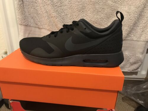 Uk All Tavas Black Nuovissimo Air Max Nike 9 Taglia 5 4wUqIYpWx