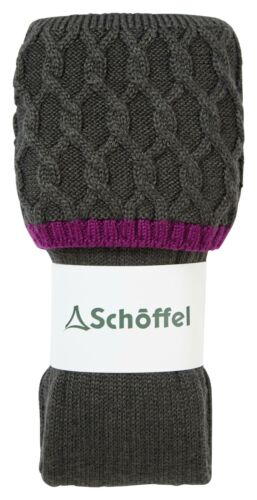 Schoffel Ladies Lattice Sock Forest