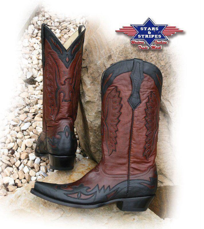 Westernstiefel WB-20, Stars&Stripes, Stiefel, Cowboystiefel     |  | Wirtschaft  | Verkaufspreis