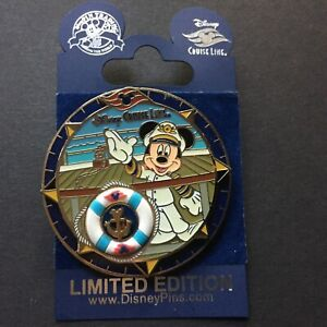 Disney-Cruise-Line-Anchor-Captain-Mickey-Mouse-spinner-LE-500-Disney-Pin-73230