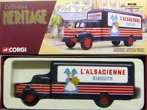 Corgi French Heritage Berliet Glr Fourgon L'alsacienne - 73001 32435730016