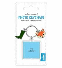Shot 2 Go Jangle Photo Key Chain Fox/Wellies/Foxy/Picture/Keyring/NEW