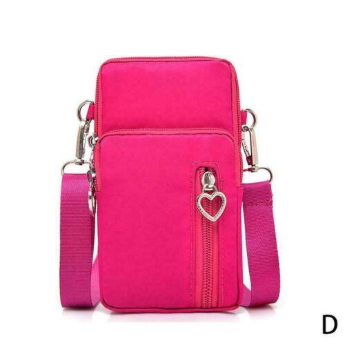 Women/'s Mini Cross-Body Cell Phone Shoulder Strap Wallet Pouch Bag Purse Ar S3M7