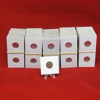 500 Cardboard 2x2 Coin Holder Mylar Flips For Cents