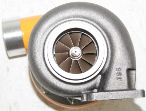 "YELLOW EMUSA GT45 Turbo//Turbocharger 600+HP Universal T4//T66 3.5/""V-Band 1.05"