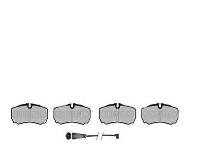 Mercedes CLS 320 CDI Discos De Freno Trasero Y Pastillas /& Wear Sensor De Plomo 2005-2010