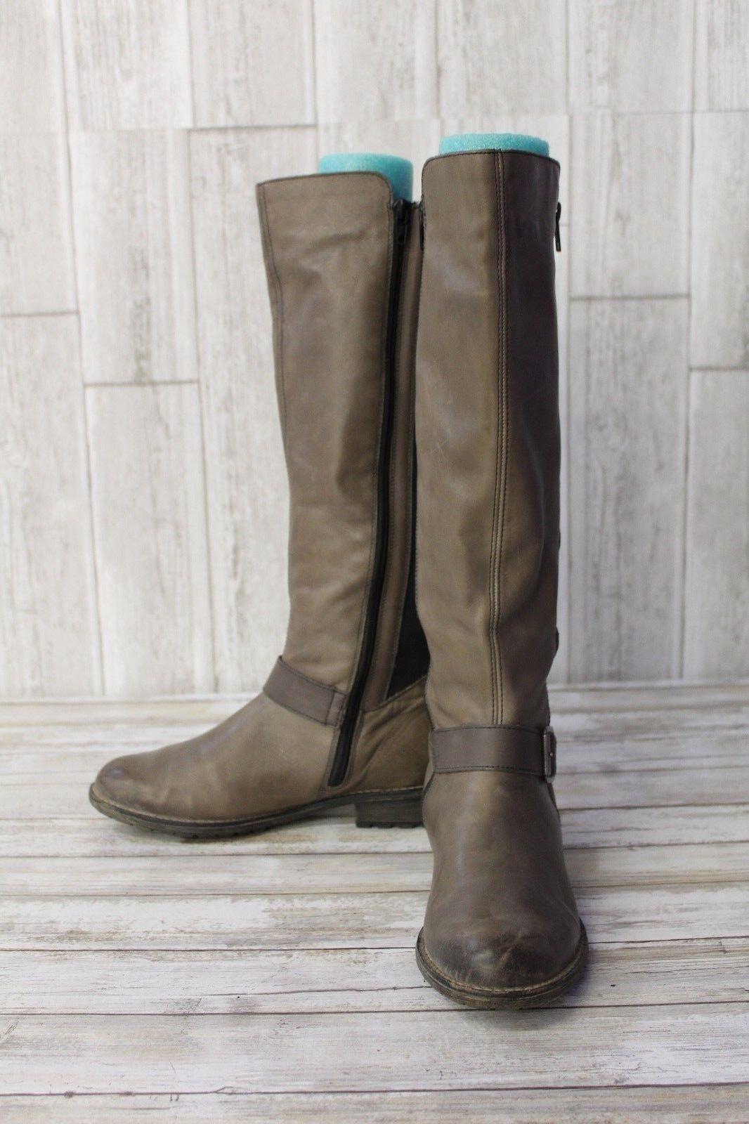 Rieker Remonte R3358 Elaine 58 Riding Boot, Damens - Größe EUR 37 (US 6.5), Braun