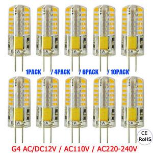4X-6X-10X-G4-Base-48-LED-Light-Bulb-Lamp-3W-AC-DC12V-AC110V-220V-Warm-Cool-White