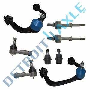 Brand New 8pc Complete Front Suspension Kit for Ford F-150 Truck - 2WD ONLY