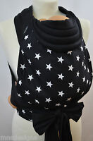 Mei Tai Baby Carrier / Sling / Reversible / Stars Black / Made In Uk /ready Made