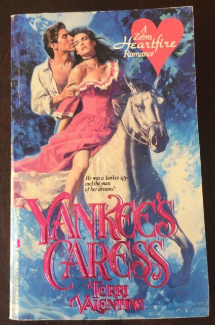 Yankee's Caress by Teri Valentine 1989 Paperback