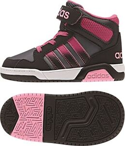 official photos 7f8a8 b4543 Image is loading Adidas-Neo-bb9tis-Mid-baby-shoes-children-shoes-
