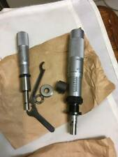 Starrett Head Micrometer Lot 22505 263 22555 Read Description