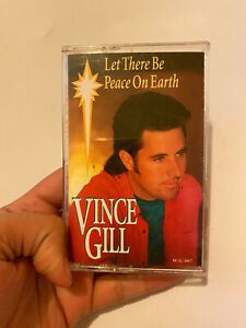 Let There Be Peace on Earth by Vince Gill (Cassette, Sep-1993, MCA)