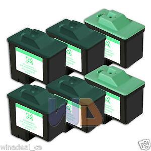 6-PACK-Lexmark-Ink-Cartridge-16-26-High-Capacity-LEXMARK-16-26-Reman-16-26