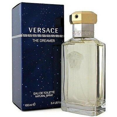 DREAMER * Versace * Cologne for Men * 3.3 / 3.4 oz *  NEW IN  TESTER BOX