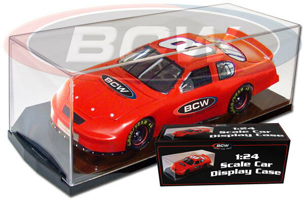 1 24 Scale Scale Scale Diecast Car BCW Display Case Holder Case of 12 6b33a8